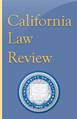 California Law Review