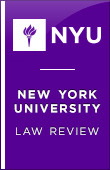 New York University Law Review