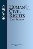 Howard Human & Civil Rights Law Review