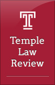 Temple Law Review