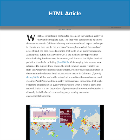 scholastica typesetting html article